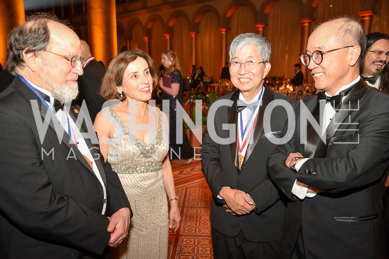 Dr. Ronald Rivest, Dr. Ching Wan Tang, National Inventors Hall of Fame, Induction at the National Building Museum, May 3, 2018-9021.JPG