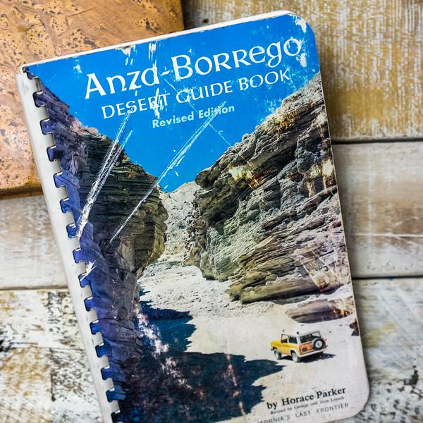 Anza-borrego Desert Guide Book; Southern California's Last Frontier Plastic Comb