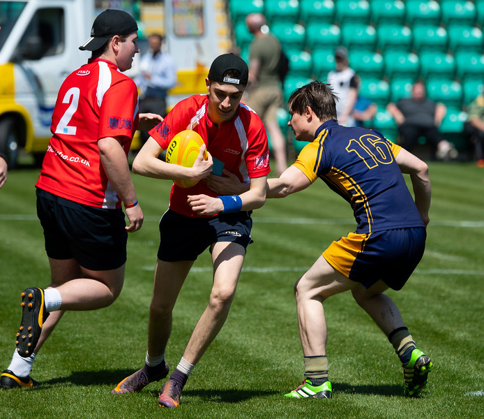 Day 5 Testimonial Schools Touch, Franklin's Gardens, 20 May 2018