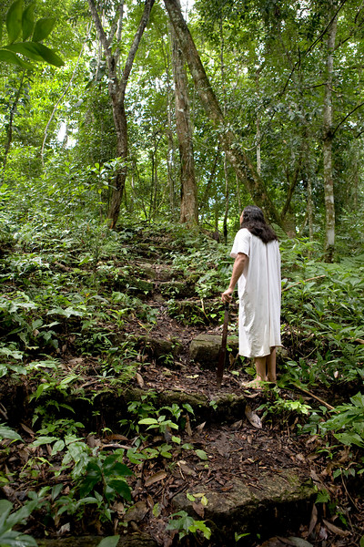 - Ce site de Ruines Mayas, se trouvent dans la forêt tropicale Lacandone et est toujours préservé par les Indiens Lacandons. Ils défendent leur droit de laisser en l'état, aussi bien ce site sacré que leur forêt.   - Este lugar de Ruinas Mayas se encuentran en el bosque tropical Lacandone y siempre se preserva por los Indios Lacandons. Defienden su derecho a dejarlo en este estado, tanto este lugar consagrado como su bosque.  - This site of Mayas Ruins are in the tropical forest Lacandone and it is always preserved by the Lacandons Indians. They defend their right to leave it in this state, as well this crowned site as their forest.  - Dieser Ruinstandort Mayas befinden sich im tropischen Wald Lacandone, und er wird immer von den Indern bewahrt Lacandons. Sie verteidigen ihr Recht, es in Stand zu lassen, sowohl dieser gekrönte Standort als auch ihr Wald.