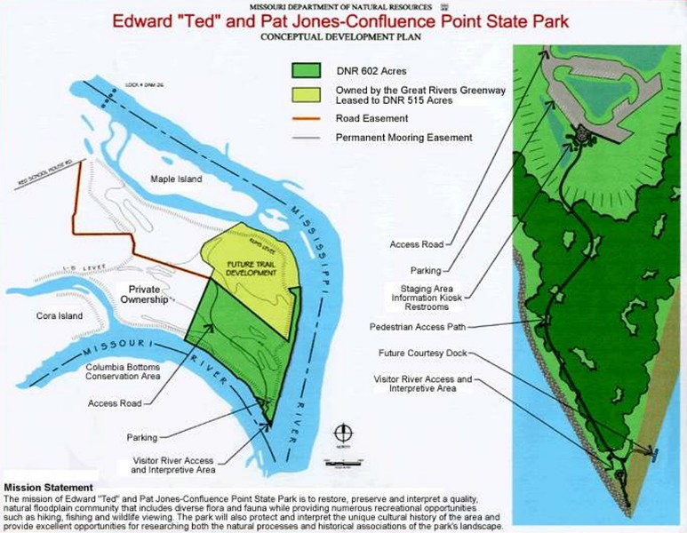 """Edward """"Ted"""" & Pat Jones-Confluence Point State Park"""