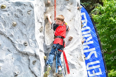 Rock wall and Eurobungy