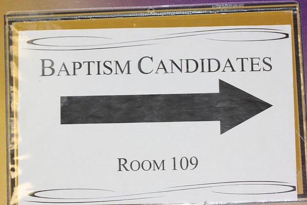 Jaden's Baptism at First Glenarden Baptist Church