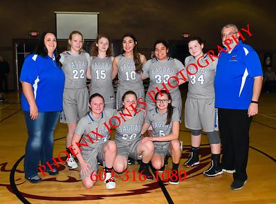 1-14-2020 - Anthem Prep v Bagdad - Girls Basketball