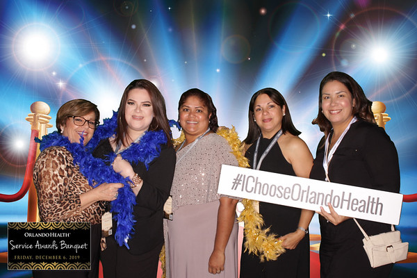 Orlando Health Service Awards Station 1 12-6-2019