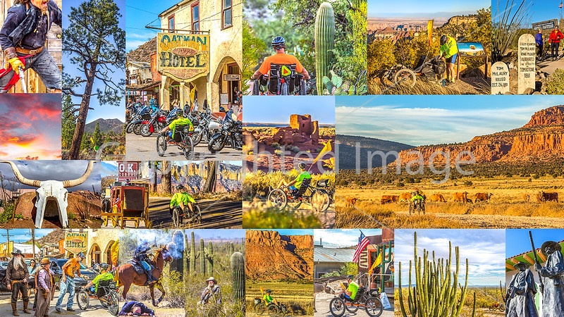 Arizona by Recumbent -- Postcard #2