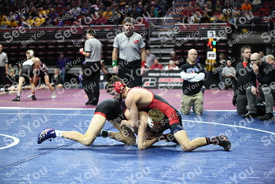 2020 State Wrestling: 1A SemiFinal Consolations