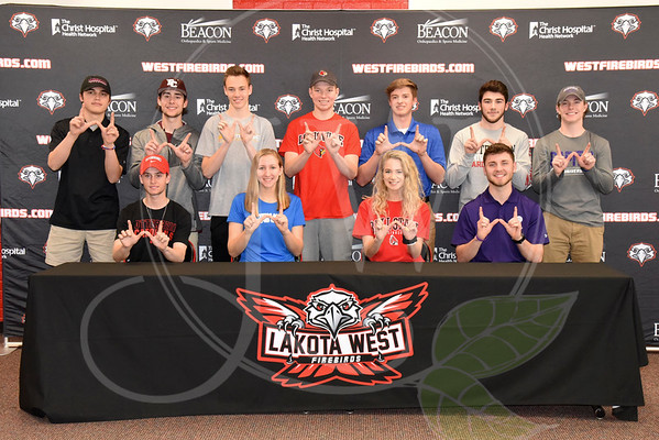 Lakota West Spring Signing Day  - April 11, 2018