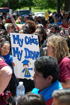 Texas Charter Schools Association Capitol Rally 2017