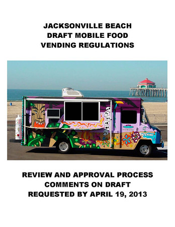 Jax Beach Food Truck Legislation