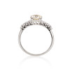 1.48ctw Antique Old European Cut Diamond Ring 2