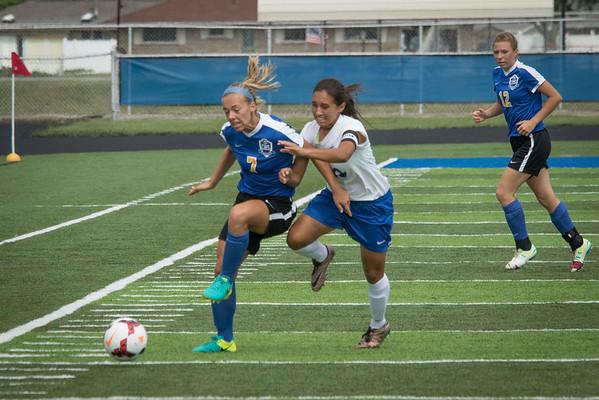 DHS Girls Soccer 09-10-2016