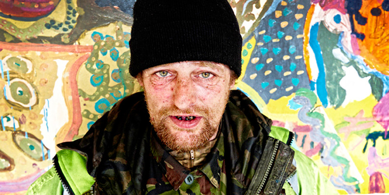 Billy # 2 - Ex Soldier - Edinburgh - Street Portrait