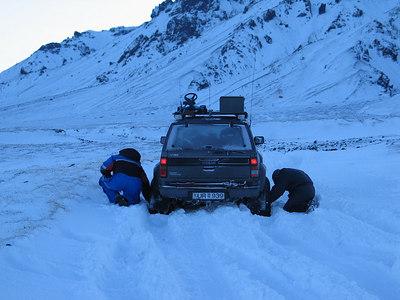 Þórsmörk janúar 2005