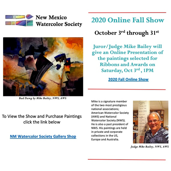 2020-10 NMWS ABQ Fall Exhibition - Accepted