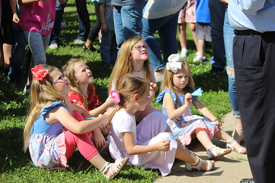 Shelby County Children's Advocacy Center's Butterfly Release