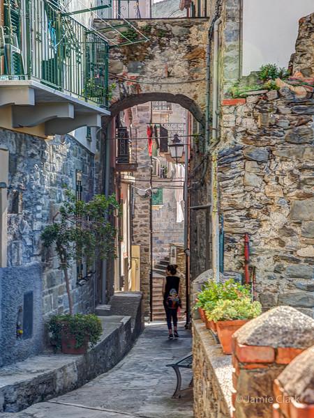 Corniglia, Cinque Terre, Italy -  October 2017
