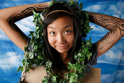 super eco hero angie tree lady