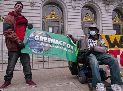 22 April 2021, San Francisco:  People's Earth Day Rally