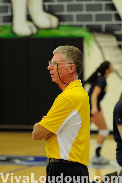 Varsity Volleyball: Tuscarora vs Loudoun County 10-14-10 (By Chris Anderson)