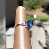 Vintage-Inspired and Contemporary 3.03ct Blue Sapphire Ring (GIA, No-Heat)) 12