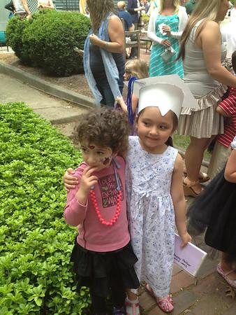 Ava Preschool Graduation 6.6.13