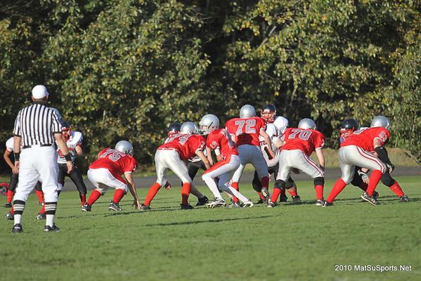 Wasilla Vs. Houston C Team 9-14-2010
