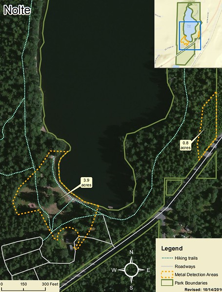 Nolte State Park (Metal Detection Areas)
