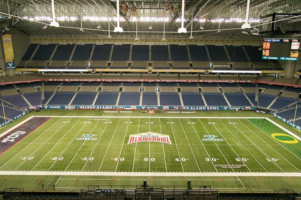 Alamo Bowl - Pre-Game Shots
