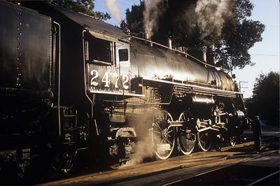 Niles Canyon - Engine 2472