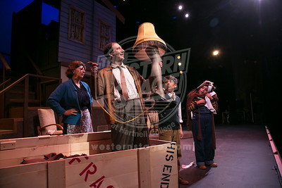 A Christmas Story Production Photos