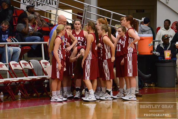 BHS Varsity Girls vs Springville-Regionals
