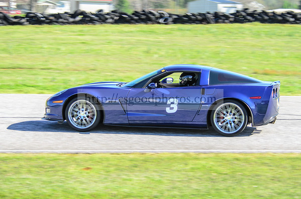 TH Car 3 Blue C6 Z06