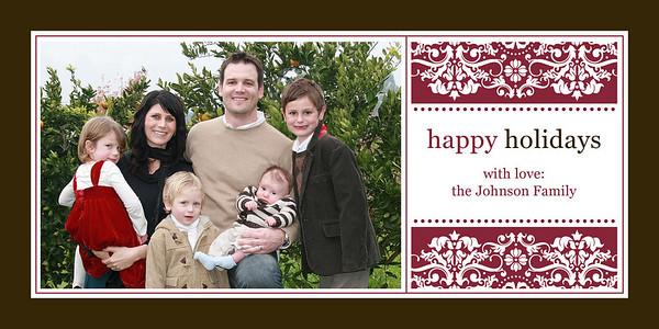 NEW! 4x8 Winter Holiday, Hanukkah & Kwanzaa Cards