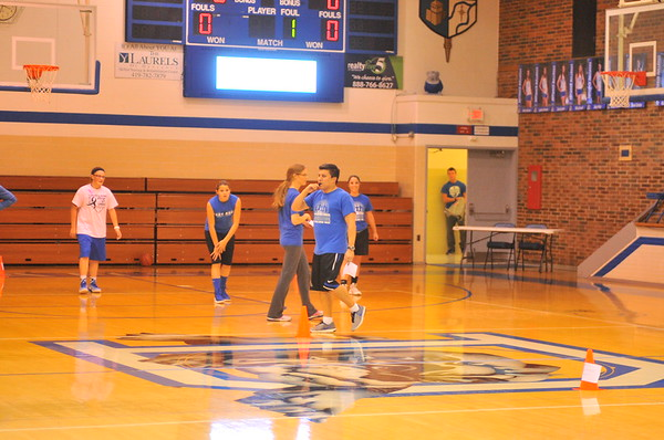 10-27-17 Sports Defiance girls basketball 1st practice