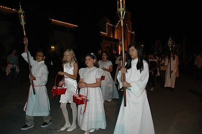 08-26-11 The Procession of the Saint. King Louis IX of France