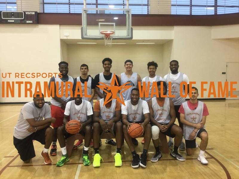 Summer 2018 Basketball Open Champion Team Loaded