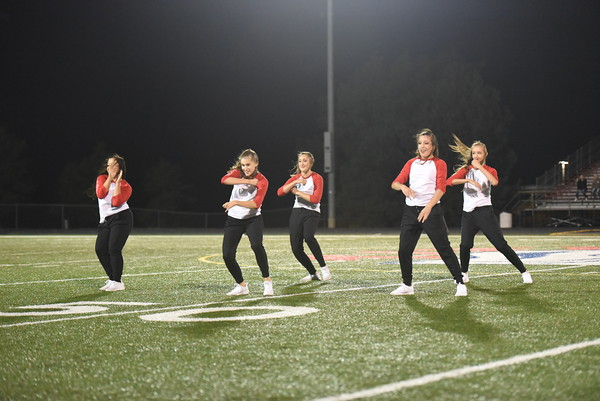 Dance Team @ Seward FB Game
