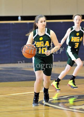 HGA vs ICA Girls CYO Basketball