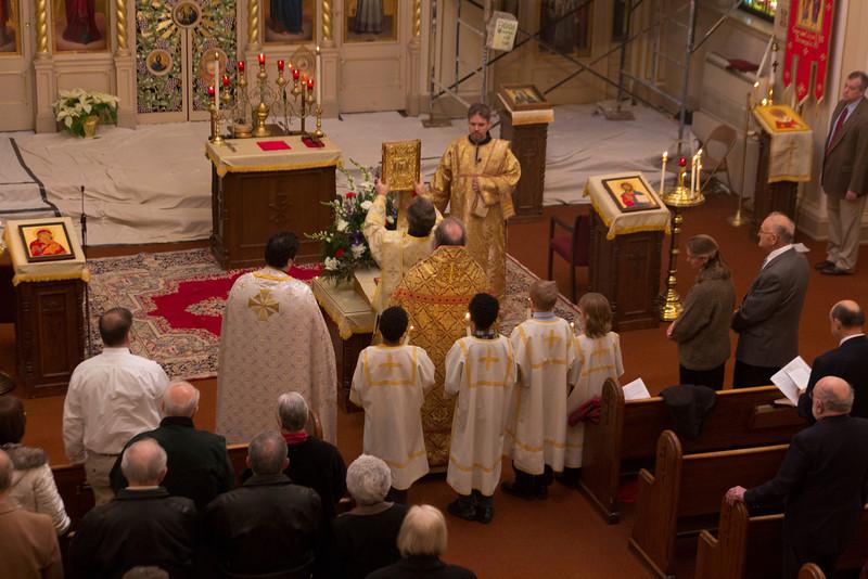 Liturgy 01/15/2012