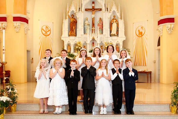 St. John's - First Communion 2014