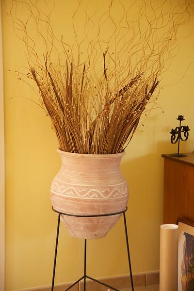 Pot in sitting room
