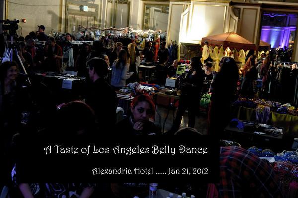 A Taste of Los Angeles Bellydance - Jan 2012