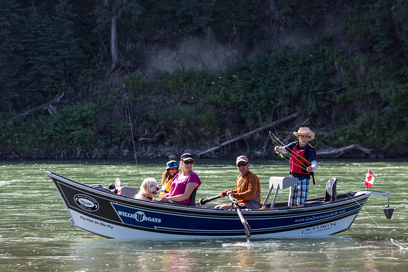 Family Fishing Trip<br />  <br /> This photo that I shot on the Lower Bow, reminds me of a Norman Rockwell painting on the cover of a Saturday Evening Post when I was a kid.