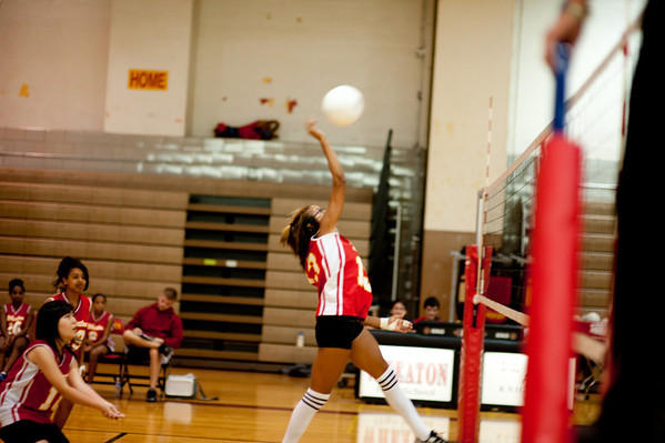 Wheaton Girls Volleyball 2010