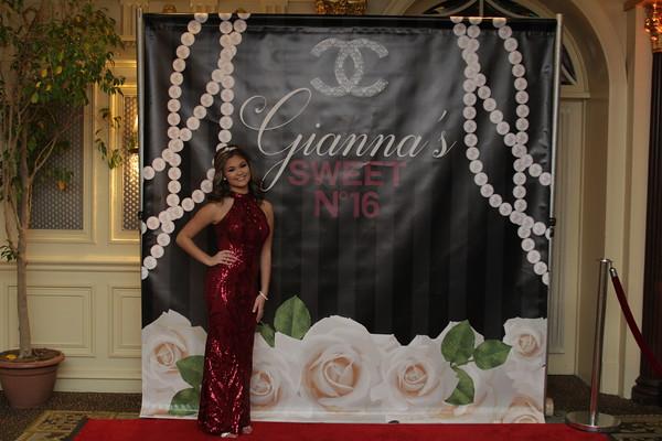 11.10.18 Gianna's Sweet 16