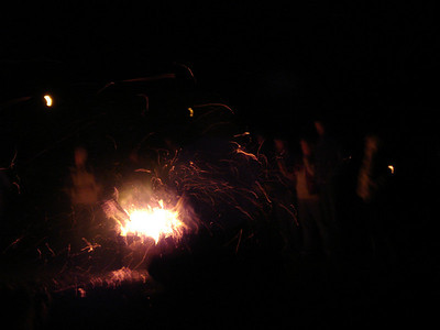 2008.12.31 New Years Eve bonfire