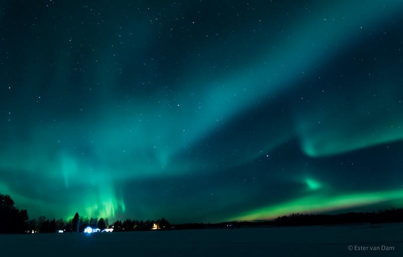 Northern Lights, Mieluskyla, 24.12.2016 IV