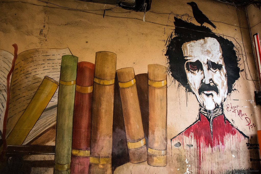 Poe was popular - never figured out why.