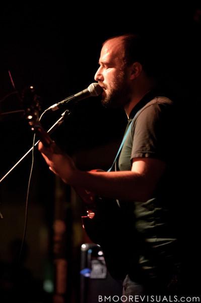 David Bazan performs on November 30, 2011 at Crowbar in Tampa, Florida